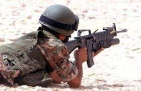صورة بالصورة : توقعو ما قدمت  اردنية لزوجها العسكري في عيد ميلاده