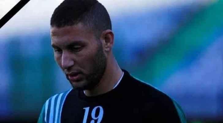 صورة وفاة لاعب مصري خلال مباراة كرة قدم