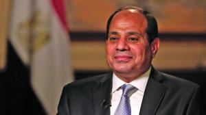 صورة السيسي: الجيش المصري يتعاون مع إسرائيل