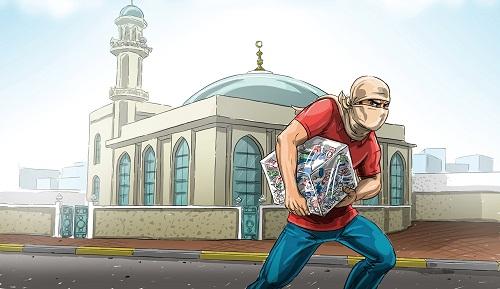 صورة سارق تبرعات أحد مساجد في قبضة الأمن .. تفاصيل