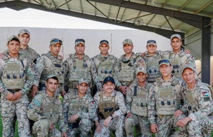 , ولي العهد: تمنياتي بالتوفيق لرفاق السلاح نشامى أردننا