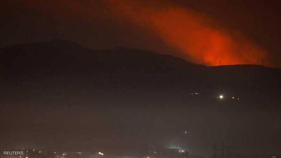 صورة سوريا تتصدى لصواريخ معادية