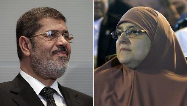 صورة زوجة مرسي في رسالة جديدة: جعلتني أميرة