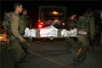 صورة العثور على جندي اسرائيلي مقتول