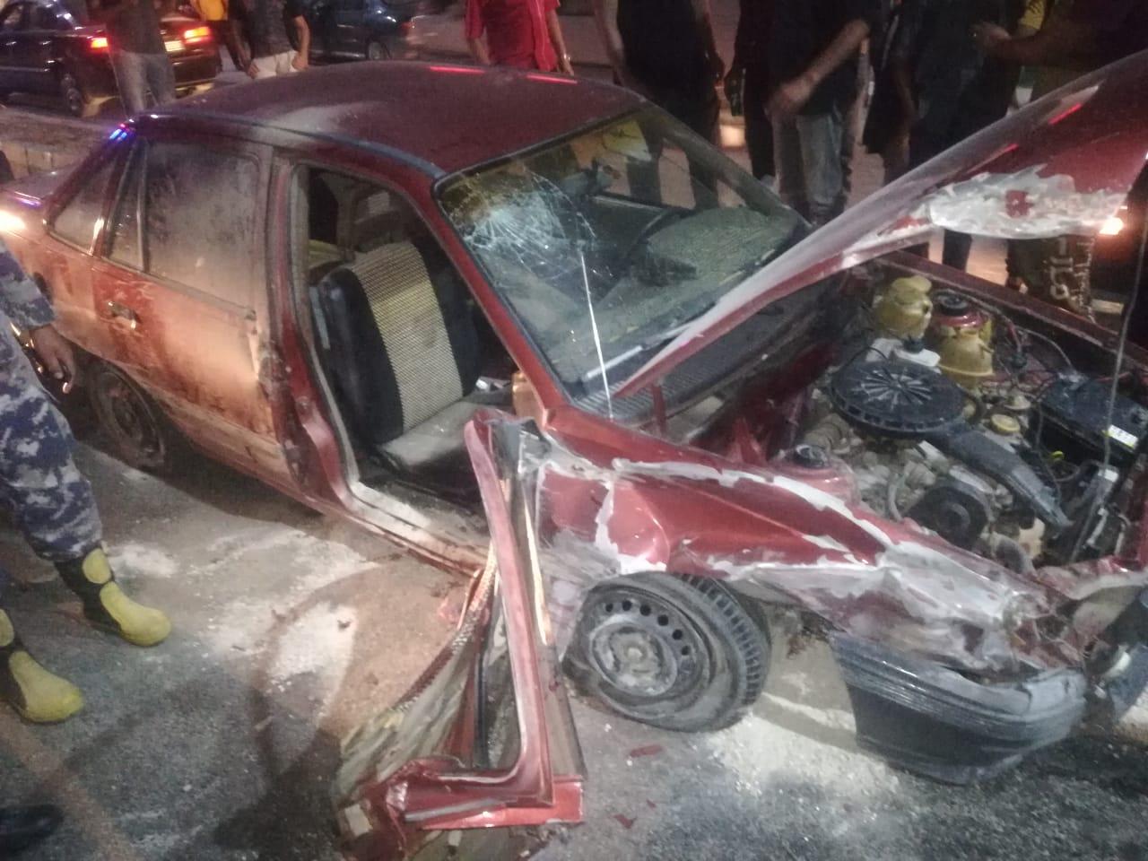 , حادث مروع … ووفاة سيدة  وإصابة آخر اثر حادث في اربد