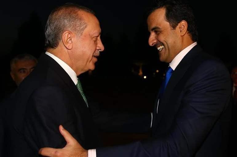 صورة «أردوغان» يزور قطر برفقة وفد رفيع المستوى.. تعرف على السبب