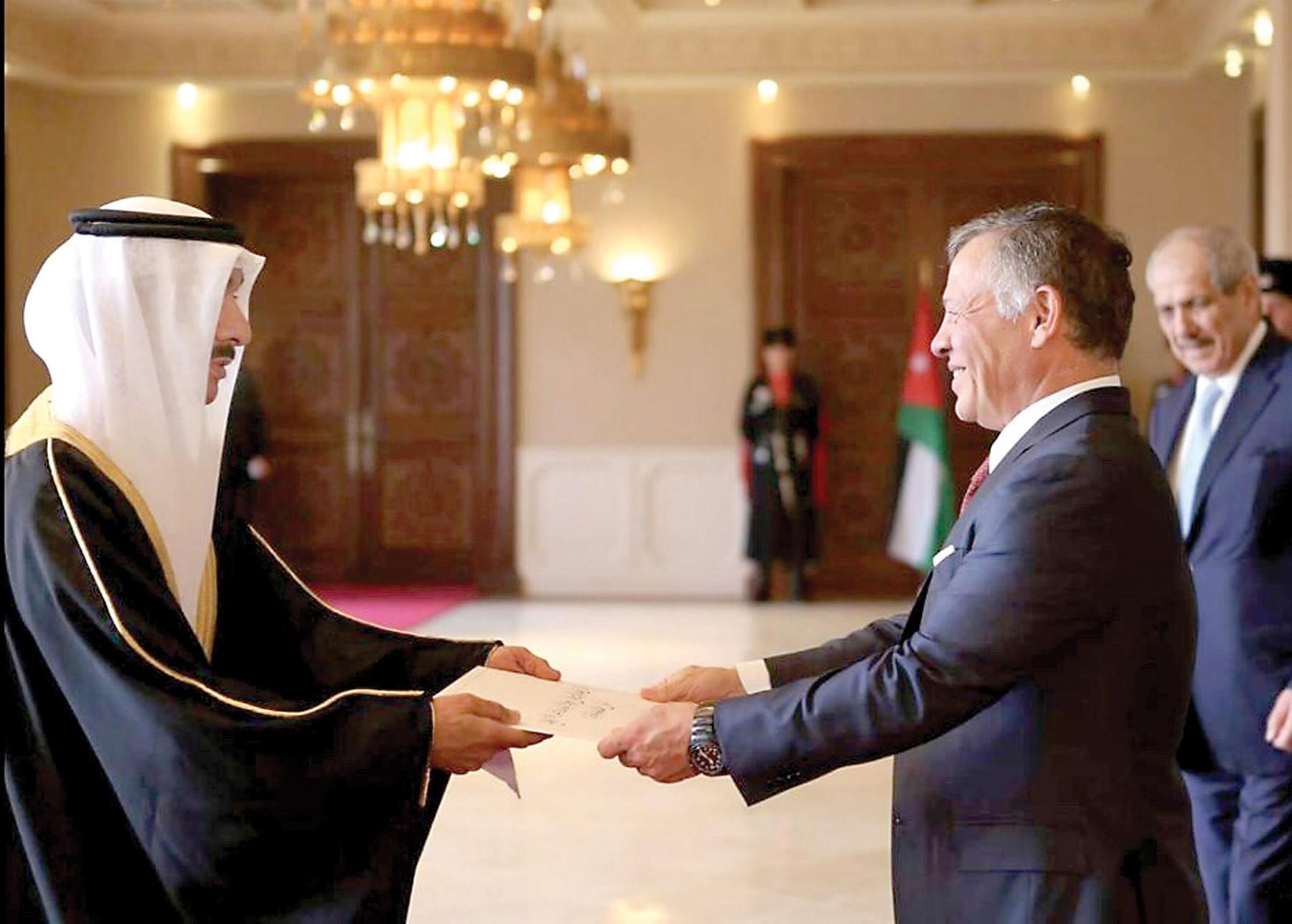 صورة السفير البحريني: نعتز بالعلاقات مع الاردن ونقدر دعمه لأمن واستقرار البحرين