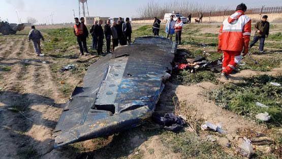 """, مصير مسقط الطائرة الاوكرانية """"تفاصيل"""""""
